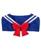 Anime Sailor Collar Blue And Red