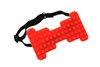 Brick Blocks Bow Tie - Red