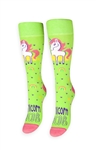 Unicorn On The Cob Socks Freaker Feet