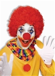 Clown Afro Wig - Red