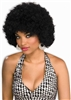 Clown Afro Wig - Black