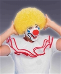 Clown Afro Wig - Yellow