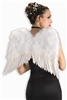 White 22 inch Feather Wings