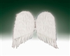 White 36 inch Feather Wings