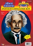 EINSTEIN WIG AND MOUSTACHE KIT