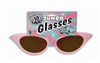 Pink Cat Eyes 1950s Jumbo Sunglasses