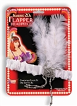 CHARLESTON FLAPPER HEADPIECE - WHITE
