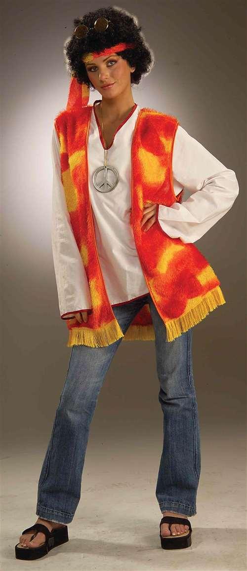 Hippie Vest And Headband  sc 1 st  Bartzu0027s & Hippie Vest And Headband - Bartzu0027s Party Stores
