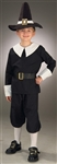 Pilgrim Boy Medium 8-10 Kids Costume