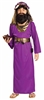 Wiseman Purple Large Child Costume