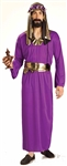 Wiseman Purple Adult Costume