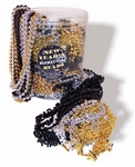 Bucket of Beads New Year's Eve 60 Pc