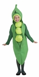 Peas Foodie Child Small Costume
