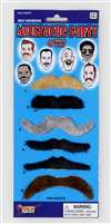 Moustache Party 6Pc