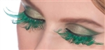 Green St Patrick's Day Eyelashes