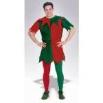 Red/Green Tights Adult Plus Size