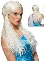 Barbarian Bride Platinum Wig