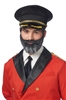 Captain Obvious from Hotels.com Beard and Mustache Set - Bartz's Party Stores