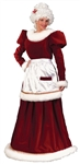 Velvet Mrs Claus 8-14 Adult