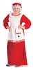 MRS. CLAUS PROMOTIONAL ADULT COSTUME - PLUS SIZE