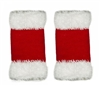 Santa Fingerless Acrylic Gloves