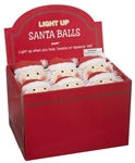 Light Up Santa Ball