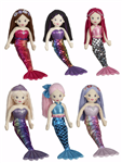 "Shimmer Cove Mermaid 18"" Mermaid Doll - Assorted"