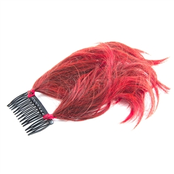 Anime Hairpiece Red/Black