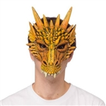 Dragon Mask - Orange