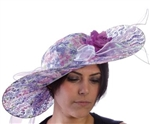 Ketuncky Classic Derby Hat - Purple Pashion