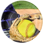 Girl's Fastpitch Softball 9in Plates
