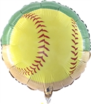 Girl's Fastpitch Softball 18in Foil Balloon