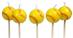 Girl's Fastpitch Softball Candles
