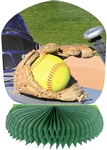 Girl's Fastpitch Softball Centerpiece
