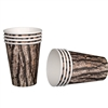 Cut Timber 12oz Paper Cups