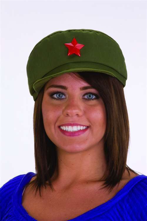 Chinese Army Cap  sc 1 st  Bartzu0027s & Chinese Army Cap - Bartzu0027s Party Stores