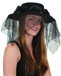 Spanish Ladies Black Hat with Veil