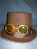 Steampunk Brown Top Hat