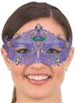 Mardi Gras Metal Filigree Mask