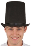 Lincoln Stovepipe Black Hat