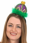 Mardi Gras Crown Headband