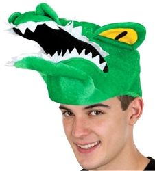 Alligator Novelty Velvet Hat