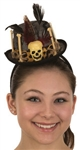 Witch Doctor Mini Top Hat Headband