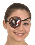 Day of the Dead Skull Eyepatch