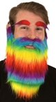 Rainbow Beard and Eyebrows
