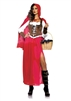 Woodland Red Riding Hood Small Adult Costume