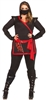 Ninja Assassin 1X/2X Adult Costume