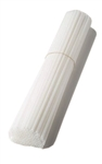 White Plastic Balloon Stick (16 in)