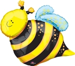 Happy Bee Mylar Balloon