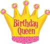 Birthday Queen Mylar Balloon